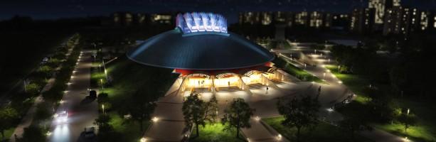 Döntés 2012 tavaszán: folytatódik az 1996 óta félkész Tüskecsarnok megépítése